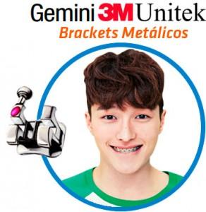 3M Gemini Brackets Metalicos