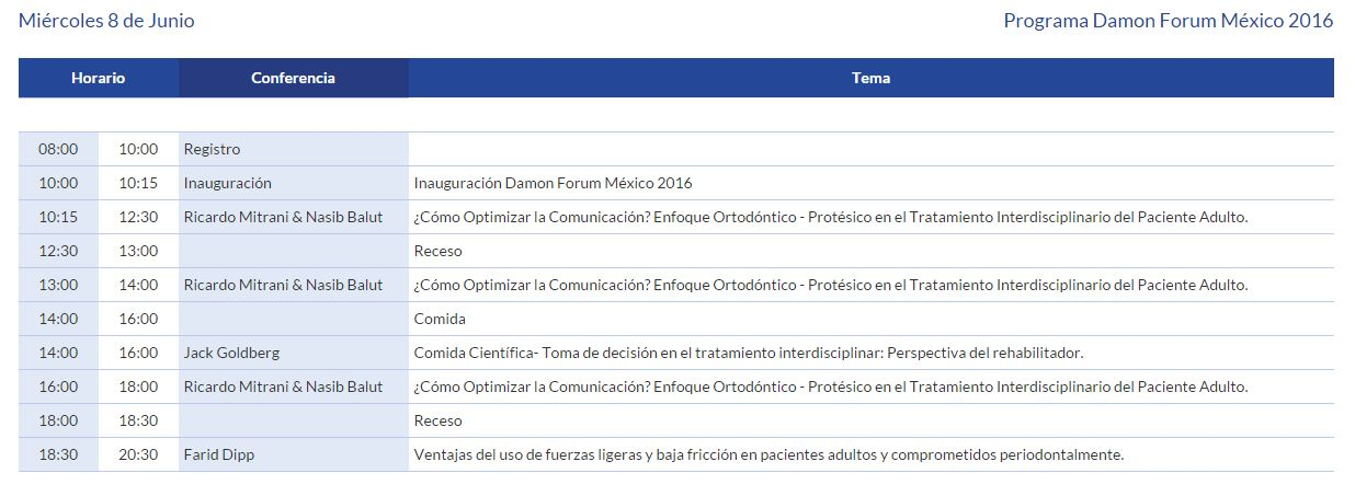 Damon Forum miercoles 8 2016
